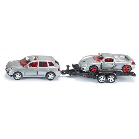 Siku Car With Trailer - Hobbytoys - 2