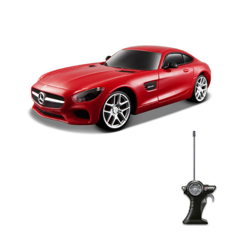 Maisto R/C Mercedes-AMG GT 1/24 Red - Hobbytoys - 1