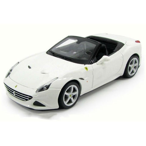 Bburago Ferrari California T Open Top 1/24 White - Hobbytoys - 1
