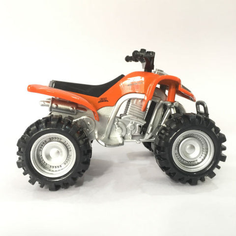 Diecast ATV Quad Bike X Racer 600 Small - Orange - Hobbytoys - 2
