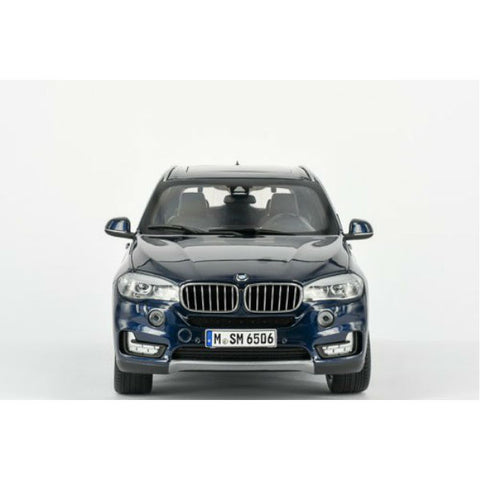 Paragon Models BMW X5 5.0i xDrive F15 1/18 Imperial Blue - Hobbytoys - 2