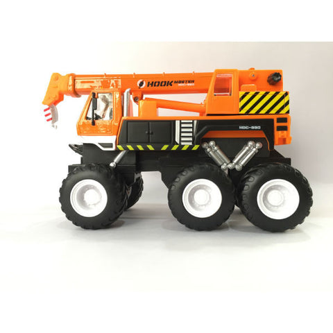 Maisto Builder Zone Quarry Monsters Crane Orange - Hobbytoys - 2