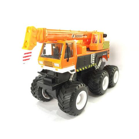 Maisto Builder Zone Quarry Monsters Crane Orange - Hobbytoys - 1