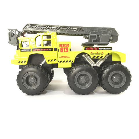 Maisto Builder Zone Quarry Monsters Ladder Truck - Hobbytoys - 2