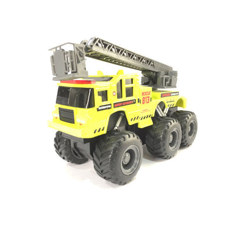 Maisto Builder Zone Quarry Monsters Ladder Truck - Hobbytoys - 1