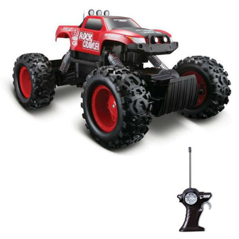 Maisto R/C Rock Crawler Red - Hobbytoys - 1