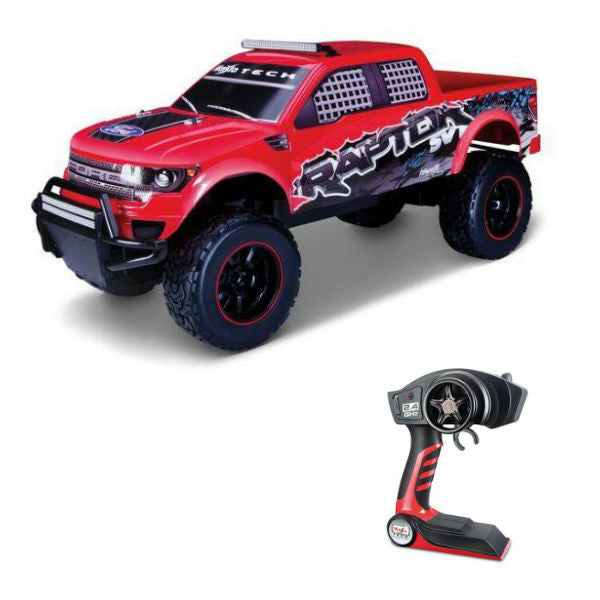 Maisto R/C Ford F-150 SVT Raptor 1/6 Red - Hobbytoys - 1