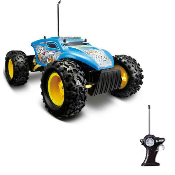 Maisto R/C Rock Crawler Extreme Blue - Hobbytoys - 1