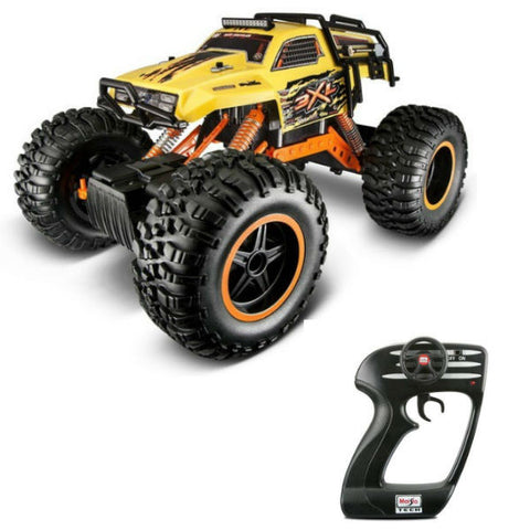 Maisto R/C Rock Crawler 3XL Yellow - Hobbytoys - 1