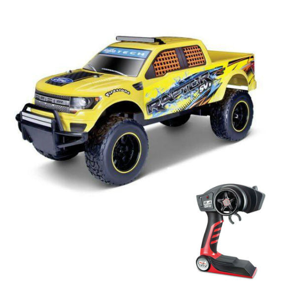 Maisto R/C Ford F-150 SVT Raptor 1/6 Yellow - Hobbytoys - 1