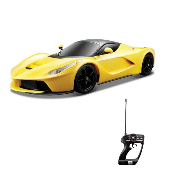 Maisto R/C LaFerrari 1/14 Yellow - Hobbytoys - 1