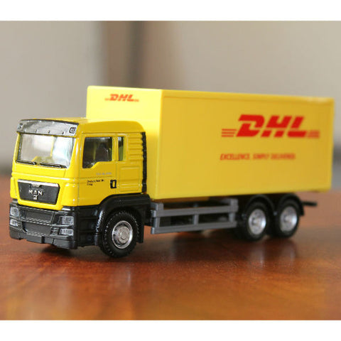 RMZ City Man TGS DHL Container Truck 1/64 - Hobbytoys - 1