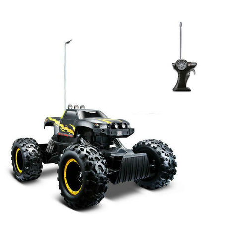 Maisto R/C Rock Crawler Black - Hobbytoys