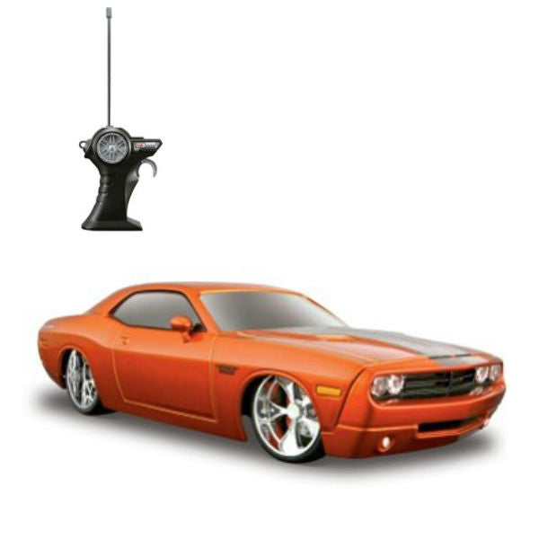 Maisto R/C 2006 Dodge Challenger Concept Orange - Hobbytoys
