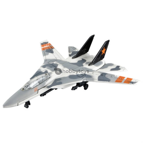 Maisto Tailwinds F-14 Tomcat White and Grey Without Stand - Hobbytoys
