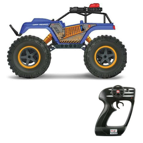 Maisto R/C Rock Crawler 3XL Blue - Hobbytoys - 1