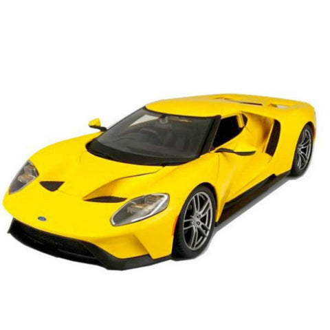 Maisto 2017 Ford GT 1/18 Yellow - Hobbytoys - 1