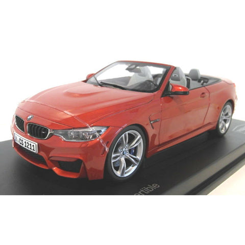 Paragon Models BMW M4 Cabrio 1/18 Sakhir Orange - Hobbytoys - 1