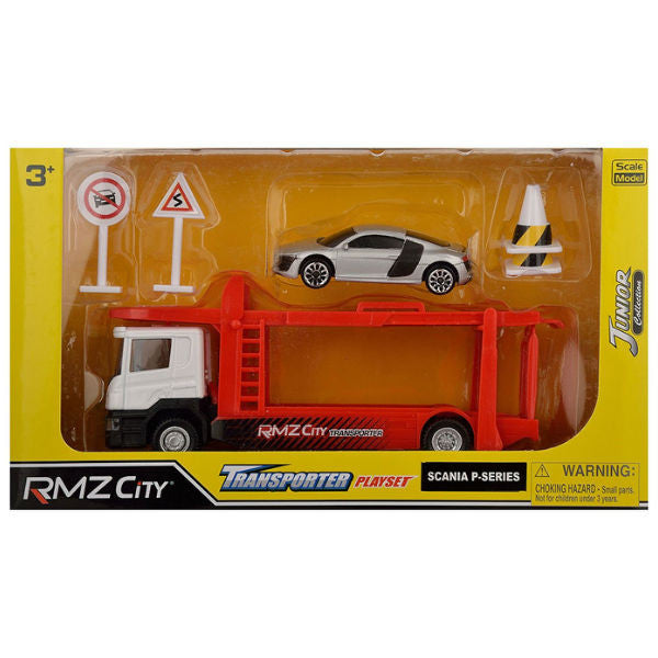 RMZ City Scania P-Series Transporter Playset