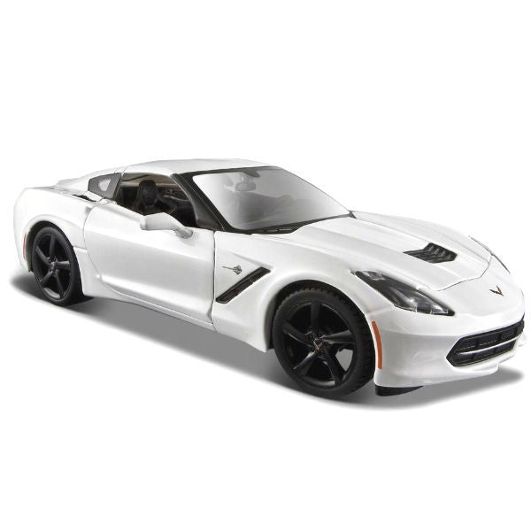 Maisto 2014 Corvette Stingray Coupe 1/24 White