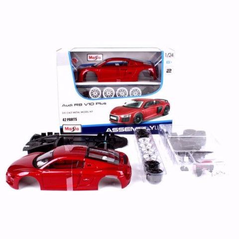 Maisto Audi R8 V10 Plus 1/24 Assembly Kit
