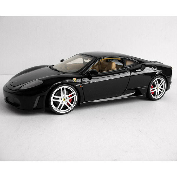 Hot Wheels Ferrari F430 Diecast Model Car - Black - Hobbytoys