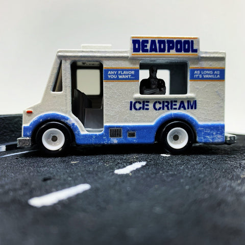 Hot Wheels Deadpool Ice cream Truck