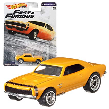 Hot Wheels Fast and Furious 67 Chevrolet Camaro
