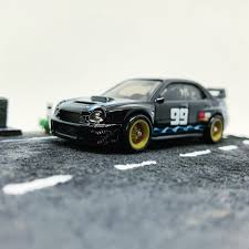 Hot Wheels Gum Ball 3000 Subaru Impreza WRX