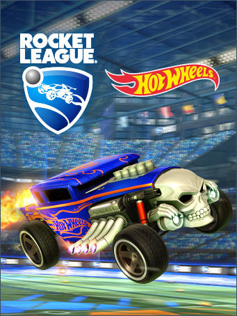 Hot Wheels Rocket League Bone Shaker