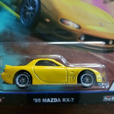Hot Wheels Street Tuners 95 Mazda Rx-7
