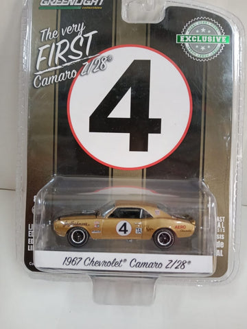 Greenlight 1967 Chevrolet Camaro Z128 1/64