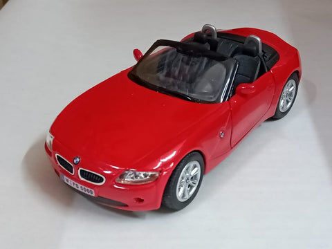 Kinsmart BMW Z4 open top 1/32 Red