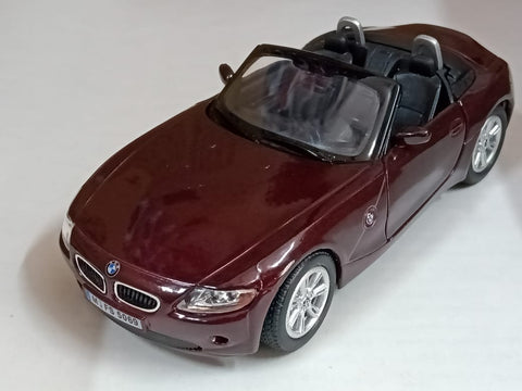 Kinsmart BMW Z4 open top 1/32 Brown