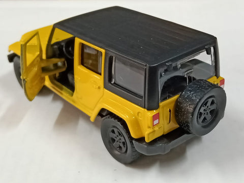 Maisto Power Kruzerz Jeep Wrangler UNLIMITED Pull Back Action Car