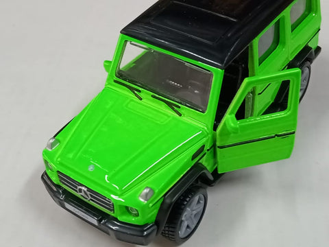 Maisto Power Kruzerz Mercedes Benz G Class Green Pull Back Action Car