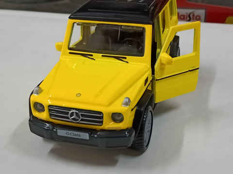 Maisto Power Kruzerz Mercedes Benz G Class yellow Pull Back Action Car