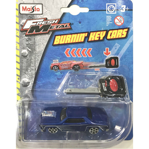 Maisto Fresh Metal Burnin' Key Cars Rosewood - Hobbytoys