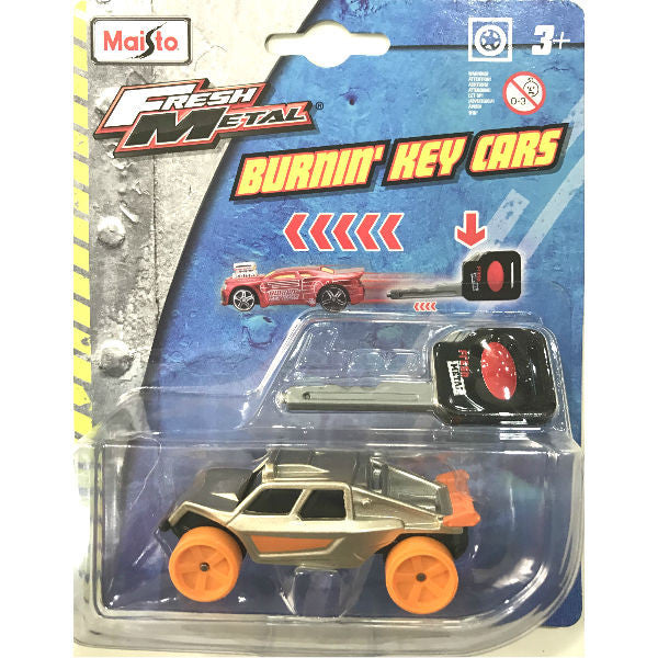 Maisto Fresh Metal Burnin' Key Cars Sand Runner - Hobbytoys