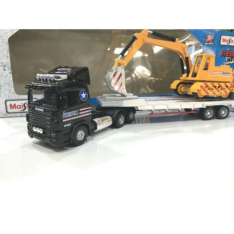 Maisto Fresh Metal Truck Line JCB Carrier Trailer - Hobbytoys - 2