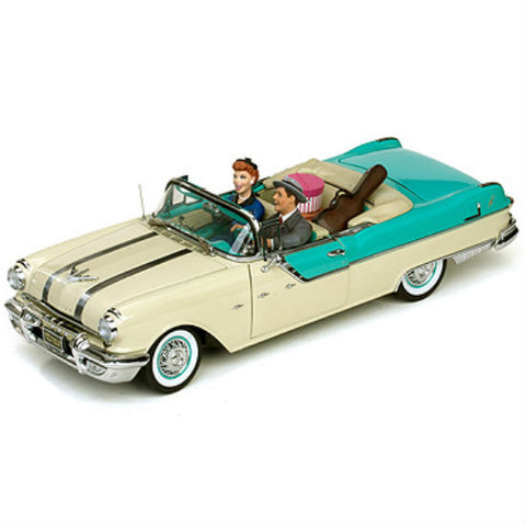 Sun Star 1955 ( I Love Lucy) Limited Edition 1/18 Diecast Model Car - Hobbytoys