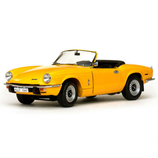 Sun Star 1970 Triumph Spitfire MK IV Open Convertible 1/18 Diecast Model Car - Hobbytoys - 1