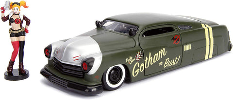 Jada 1951 Mercury with Harley Quinn figure 1/24