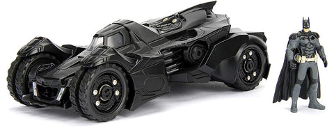 Jada Toys Arkham Knight Batmobile with batman figure 1/24