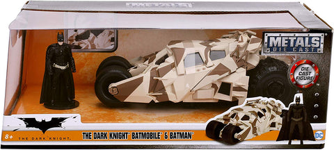 Jada Toys The Dark Knight Tumbler with batman figure 1/24