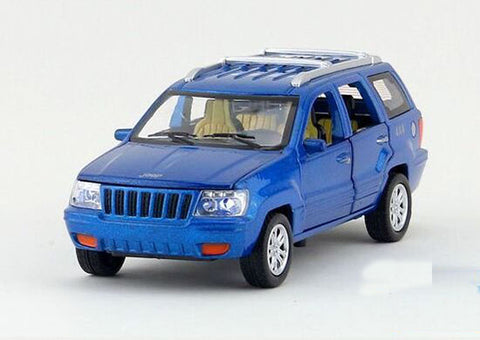 Maisto Power Kruzerz Jeep Grand Cherokee Pull Back Action Car