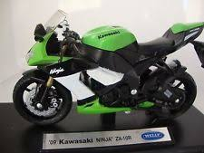 Welly KAWASAKI 2009 NINJA ZX-10R Bike 1/18