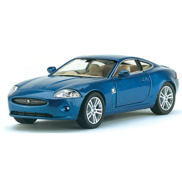 Kinsmart Jaguar XK Coupe 1/38 Blue - Hobbytoys - 1