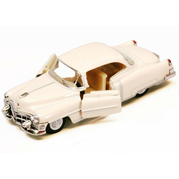 Kinsmart 1953 Cadillac Series 62 Coupe 1/43 Ivory