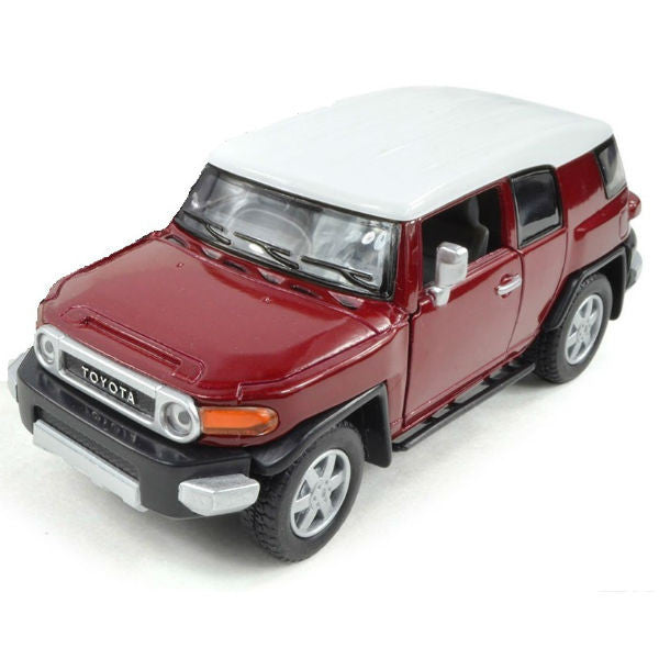 Kinsmart Toyota FJ Cruiser 1/36 Red - Hobbytoys - 1